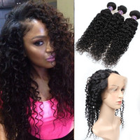 Good 8A Pre- Plucked 360 Lace Frontal Closure With 3Bundles B...