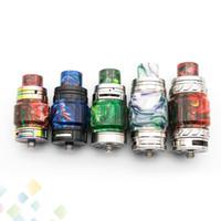 20Style Resin Resin Kit Fat verlängern Erweiterungsbirnen-Set mit Resin Tube Caps Tropfspitze für TFV8 Big Baby TFV12 Prince DHL-frei