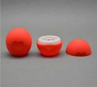 فارغة التجميل الكرة الحاويات 7 جرام الشفاه بلسم جرة العين لمعان كريم عينة حالة شحن مجاني