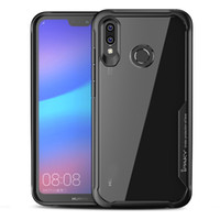 iPaky Huawei Nova 3 3i Case Transparent Back Cover PC+ TPU Ha...