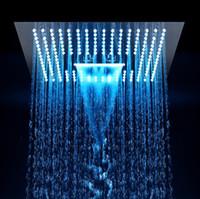 """3 Funzione 16 """"Bagno Doccia a pioggia Elettricità Conceal Incorpora Soffione a pioggia Soffione a pioggia Soffione a colori diversi"""