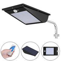 11000mAh Lámpara solar al aire libre 110 LED Sensor de movimiento Super brillante de seguridad de seguridad de seguridad con 3 modo de control remoto