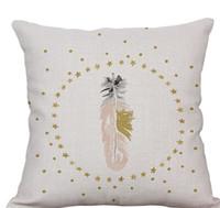 Geometri Pamuk Keten Yastık Kılıfı Pembe Flamingo Yumuşak Kısa Peluş Yastık Yatak Malzemeleri Sevgililer Günü Hediyesi Sıcak Satış 13 5xs ii