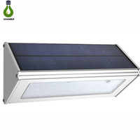 Motion Sensor Security Outdoor Solar Light 48 LED 1000lm Wea...
