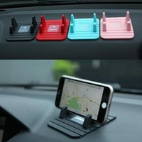 Remax 유니버셜 실리콘 안티 슬립 매트 자동차 홀더 휴대 전화 조정 가능한 마운트 스탠드 브래킷 대시 보드 홀더 아이폰 x 8 삼성 S10