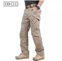 ¡Gran venta! TAD IX9 (II) Tactical Cargo Pantalones al aire libre Hombres Combat Hiking Army Pantalones de entrenamiento Hunting Outdoors Sport Trousers