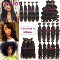 Brazilian Human Hair Bundles Kinky Curly Hair Weave Extensio...