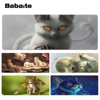 Babaite Vintage Cool Fantasy Cat Beautiful Anime Lockedge Mo...