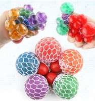 48pcs Decompression grape ball 6cm Cute Anti Stress Face Rel...