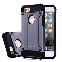 Tough Armor Hybrid Rugged PC TPU Case For iPhone X 8 7 6 Sam...