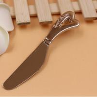 انتشار الحب شكل قلب شكل مقبض الموزعات الموزعة زبدة السكاكين سكين هدية عرس الحسنات wen5099