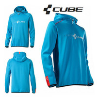 Cube Teamline Ciclismo Mountain Bike Riding Coat MTB BMX Downhill MX Motorcross Hoodies Bicicleta Bermudas Envío gratuito