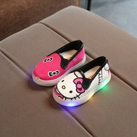 2018 lovely lighted fashion casual baby sneakers new brand n...