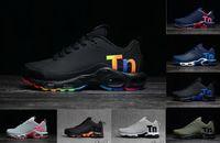 2019 Hors New Black Rainbow Air Mercurial Plus Tn Ultra SE KPU Blanc Chaussures De Course À Ventilation Augmentée Baskets Chausseures