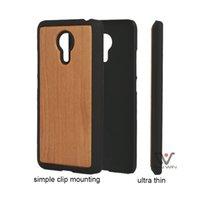 Bamboe houten kistje voor Meizu MX5 PRO 5 Effen Kleur Hard Cases voor MEIZU PRO5 MX 5 Mobiele telefoon Back Cover Clip Design