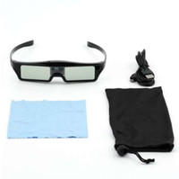 Nieuwe 3D IR Actieve sluiterglazen voor BenQ W1070 W700 W710ST DLP-LINK-projector Hot Promotie