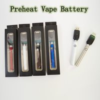 510 Thread Battery Preheat Vape Battery Variable Voltage 350...
