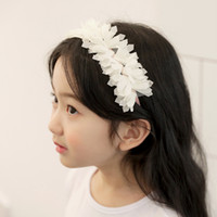 Fashion new floral Girls Hair Sticks lace cute baby girl hea...
