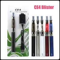 Ego-T CE4 E-cigarros kit EGO-T CE4 blister kit Blister CE4 Clearomizer Kits 650mah / 900mah / 1100mah bateria Ego-T bateria