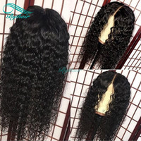 Bythair Human Hair Lace Front Wig Deep Curl Pre Plucked Hair...