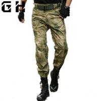 Military Tactical Pants Männer Camouflage Overalls Cargo-hosen SWAT Armee Airsoft Kleidung Hunter Feldarbeit Kampf Hosen 28-40