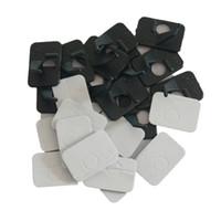 12 piezas de plástico Especialidad revistve arco flecha resto para arco recurvo zurdo en color negro