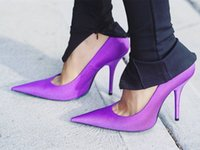 Sexy Pointed Toe Thin HIgh High Heels Pumps Fashion Stains P...