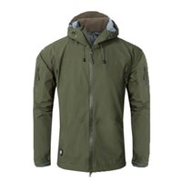 Tactical Men Full Adhesive Hardshell Jacket Outdoor Camping ...