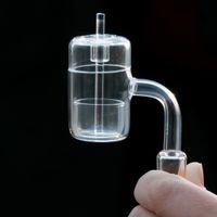 Thermischer Quarz-Banger 10mm 14mm 18mm männliche weibliche domellose Nägel-Hülsen für Glas Wasserbongs