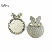 BoYuTe (20 Pieces Lot) 30MM Inner Size 3 Colors Zinc Alloy M...