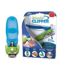 Led Wonder Clipper Nagelschere Pediküre 150 Grad Schwenkkopf Edelstahl Nagel Maniküre Pflege Werkzeug Trimmer Kit in Kleinverpackung Box
