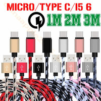 Type c Usb C Cable Fast Speed 1m 2m 3m micro V8 Fabric braid...