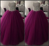 2018 Romantic Quinceanera Dresses Sweetheart Sequined Floor ...