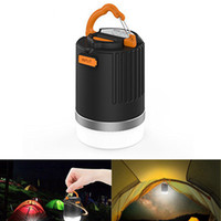 440 Lumen tragbare Outdoor Camping Laterne Multifunktions USB wiederaufladbare LED-Licht mit 10400mAh Power Bank Akku