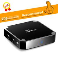 Amlogic S905W X96 TX3 Mini MXQ PRO 1GB 8GB Android 7.1 TV BOX Quad Core 4K 2.4G WiFi Smart Boxes Streaming Media Player Meilleur A95X R1
