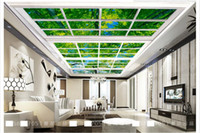 Custom Large Ceiling Mural Wallpaper 3D three- dimensional wi...
