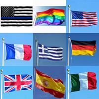 3 * 5ft 90 * 150 سنتيمتر rainbow الأعلام واللافتات مثليه المثليين المثليين العلم البوليستر الملونة العلم للزينة 26 تصميم HH7-1169