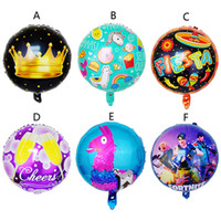 6 Style Fortnite Unicorn Crown balloon toys 2018 New kids 45...
