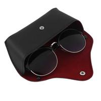 190965acb24 Wholesale leather eyeglasses cases for sale - PU Leather Glasses Case  Vintage Sunglasses Glasses Holder Box