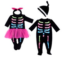 Halloween Baby Romper For 0- 24 Mothes Autumn and winter Newb...