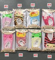 gran descuento ins Baby Boat Socks Zapatos para niños antideslizantes antideslizantes Bottom Cartoon 9-15cm niños toddle calcetines gratis sihpping