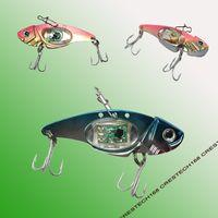 Вибрация тонущие рыболовные приманки светодиодные рыболовные приманки новые рыболовные приманки приманки/снасти воблеры крючки гольян приманки