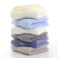 34x78cm Cotton Absorbent Solid Color Soft Comfortable Top Gr...