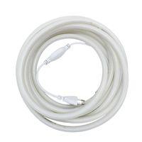 Edison2011 AC 110V 220 V rotondo LED neon striscia impermeabile 14mm diametro rotondo flessibile 120pcs 2835 / m 360 gradi illuminazione al neon striscia flessibile