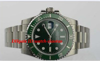 Luxury Watches V5 Asia 2813 Movement Men' s Green 116610...