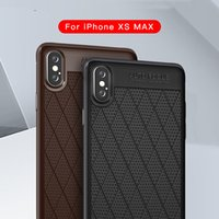 PU кожаный чехол для iphone X XS XR XS MAX 7 8 6 8plus ТПУ гибридный бронированный чехол Противоударный силиконовый двухслойный чехол