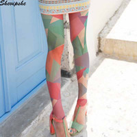 Summer Geometry Sexy Stocking Women Pantyhose Stretch Mesh T...