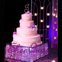 best seller perfect Cake Stand With Crystal Hanging Beads 2 ...