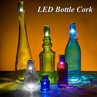 Magic Cork Shaped Rechargeable Wine Bottle USB Night light c...