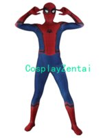Spiderman Homeing Costume 3D Shade Cosplay Zentai Suit Spnad...